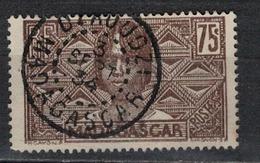 MADAGASCAR           N°  YVERT      173   ( 2 )  OBLITERE       ( O   3/48 ) - Madagascar (1889-1960)