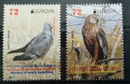 MACEDONIA NORTH 2019 - EUROPA  NATIONAL BIRDS MNH - Mazedonien