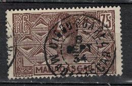 MADAGASCAR           N°  YVERT      173   ( 6 )  OBLITERE       ( O   3/48 ) - Oblitérés