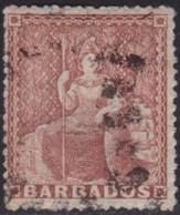Barbados     .   SG  .    25        .   O      .    Cancelled      .   /    .  Gebruikt - Barbados (...-1966)