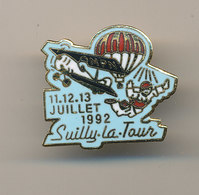 SUILLY LA TOUR - Paracadutismo