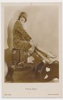 CLARA BOW Actress - ROSS VERLAG , Actor, Vintage Old Photo Postcard - Acteurs