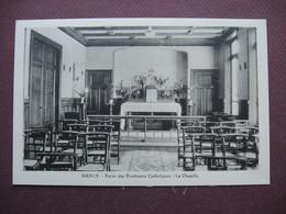 CPA 54 NANCY Foyer Des Etudiantes Catholiques La Chapelle RARE PLAN ? 1930 ? - Nancy