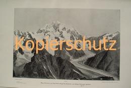 253-2 Sella: Schchara Kaukasus Riesendruck 1902!! - Historische Dokumente