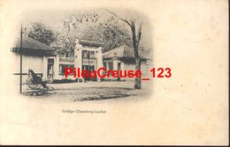 "VIETNAM - SAIGON - "" Collège Chasseloup Lambat - Pousse Pousse "" - CARTE PRECURSEUR - Viêt-Nam"