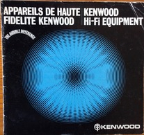 Kenwood Hi-Fi Equipment. 36 Page - Technical Plans