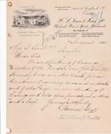 EXETER BONDED STORES SONES SONS WHOLESALE WINE SPIRIT MERCHANTS ANNEE 1901 - United Kingdom