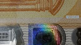 EURO SPAIN 50 VA V001 A1 VA000 UNC DRAGHI - EURO