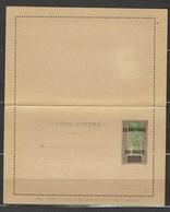 Entier Postal, Territoire Du Niger, CL 1, Très Belle Qualité - Niger (1921-1944)