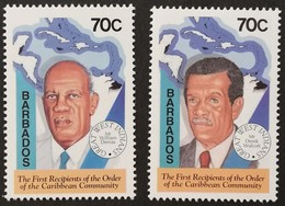 Barbados 1994 Order Of The Caribbean Community - Barbados (1966-...)