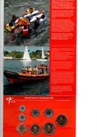CURACAO EN SINT MAARTEN MUNTSET 2011 BRILLIANT UNCIRCULATED CITIZENS RESCUE ORGANIZATION - Antille Olandesi