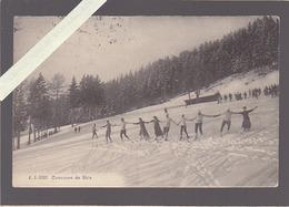 Suisse - Sport - Concours De Skis - éd Jullien - Cachet Morgins - Suisse
