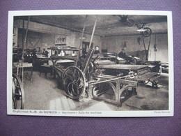 Lot 2 CPA 21 FENAY Orphelinat Notre Dame De DOMOIS METIERS Imprimerie Salle Des Machines & Composition Canton LONGVIC - Autres Communes
