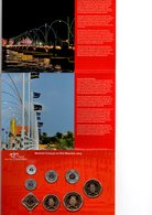CURACAO EN SINT MAARTEN MUNTSET 2013 BRILLIANT UNCIRCULATED 125 JR. EMMABRUG - Netherland Antilles