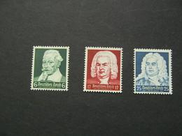 DR Nr. 573-575, 1935, Geburtstag, Postfrisch/MNH/**, BS - Unused Stamps