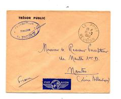 Lettre Cachet Le Port Reunion - Postmark Collection (Covers)