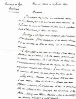 LETTRE CDT DU DUNKERQUE ANNONCANT DÉCÈS MARIN  MERS EL KEBIR  3 Juillet 1940 - Documents