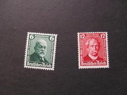 DR Nr. 604-605, 1936, Internationale Ausstellung, Postfrisch/MNH/**, BS - Unused Stamps