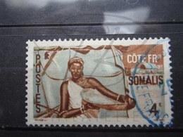 VEND BEAU TIMBRE DE LA COTE FRANCAISE DES SOMALIS N° 276 + CACHET BLEU !!! - Oblitérés