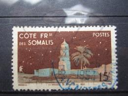 VEND BEAU TIMBRE DE LA COTE FRANCAISE DES SOMALIS N° 280 + CACHET BLEU !!! - Oblitérés
