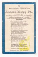 DP Alphons J. Ide / Van Parys  ° Ruiselede 1903 † 1904 - Images Religieuses