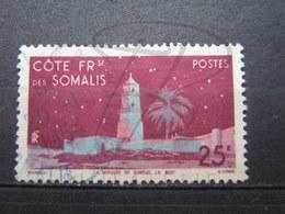 VEND BEAU TIMBRE DE LA COTE FRANCAISE DES SOMALIS N° 282 + CACHET BLEU !!! - Oblitérés