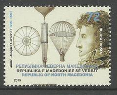 MK 2019-06 A.J.GARNERIN 1 X 1v, MNH - Mazedonien