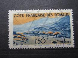 VEND BEAU TIMBRE DE LA COTE FRANCAISE DES SOMALIS N° 272 + CACHET VIOLET !!! - Oblitérés