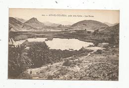Cp,  ALGERIE ,  AIN EL OUARKA ,près Aïn-Sefra, Les Bains, Vierge - Algérie