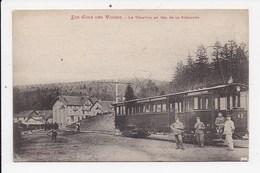 CPA 88 Le Tramway Au Col De La Schlucht - Sonstige Gemeinden