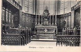 """FLAVIGNY """"L'église"""" Le Choeur - Autres Communes"""