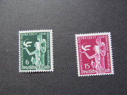 DR Nr. 622-623, 1936, Weltkongress, Postfrisch/MNH/**, BS - Unused Stamps
