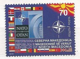 MK 2019-09 NATO, 1 X 1v, MNH - Mazedonien