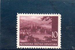 CROATIE 1941-3 ** SIGNE' - Croatia