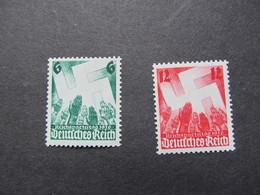 DR Nr. 632-633, 1936, Reichparteitag, Postfrisch/MNH/**, BS - Unused Stamps
