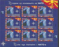 MK 2019-09 NATO, MS, MNH - Mazedonien