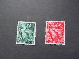 DR Nr. 660-661, 1938, Machtergreifung, Postfrisch/MNH/**, BS - Alemania