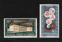 CAMEROUN  ( AFCA - 189 )  1964  N° YVERT ET TELLIER   N° 379/380   N** - Cameroun (1960-...)