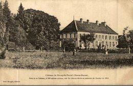 CHATEAU DE PERCEY LE PAUTEL - France