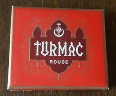 D - Paquet De Cigarettes Turmac Rouge - Vide (4 Scans) - Empty Tobacco Boxes