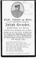 Joseph BERNEDER - Kanonier Im 4. Feldartill. Rgt., 4. Batt. +1916 En Begraven AZANNES II - Bl.7 - Gr. 134 - 1914-18