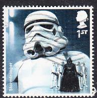 2015 GB -  Star Wars (1st Issue) - Star Wars - Stormtrooper 1st-  Used SG3761 - 1952-.... (Elizabeth II)