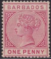 Barbados      .   SG  .    91    .   *     .    Mint-hinged     .   /    .   Ongebruikt - Barbados (...-1966)