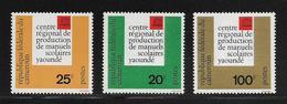 CAMEROUN  ( AFCA - 200 )  1963  N° YVERT ET TELLIER   N° 369/371   N** - Cameroun (1960-...)