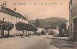 21 Pont De Pany Route De Paris Et Vue Sur Le Mont Aigu Cpa Carte Animée - Autres Communes