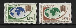 CAMEROUN  ( AFCA - 203 )  1963  N° YVERT ET TELLIER   N° 365/366   N** - Cameroun (1960-...)