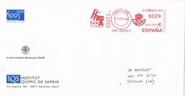 32518. Carta BARCELONA 2006. Franqueo Mecanico  IQS, Institut Quimic Sarria - 1931-Aujourd'hui: II. République - ....Juan Carlos I