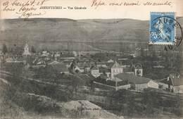 10 Arrentieres Vue Générale Cachet 1924 - France