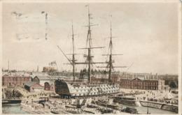 R022476 Portsmouth Dockyard And H. M. S. Victory. 1929 - Ansichtskarten
