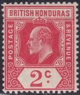 British  Honduras        .   SG  .   96       .   *     .    Mint-hinged     .   /    .   Ongebruikt - British Honduras (...-1970)